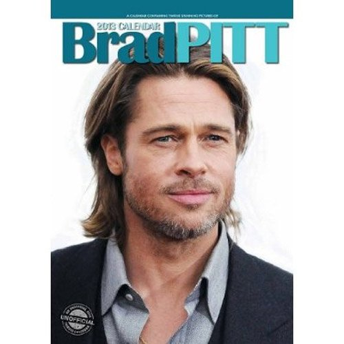 Click for larger image of Brad Pitt 2013 Calendar [Calendar] Red Star