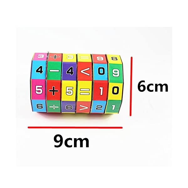 Gaddrt Baby Children's Number Multi Activity Cube Math Educational Toy Puzzle Game Gift