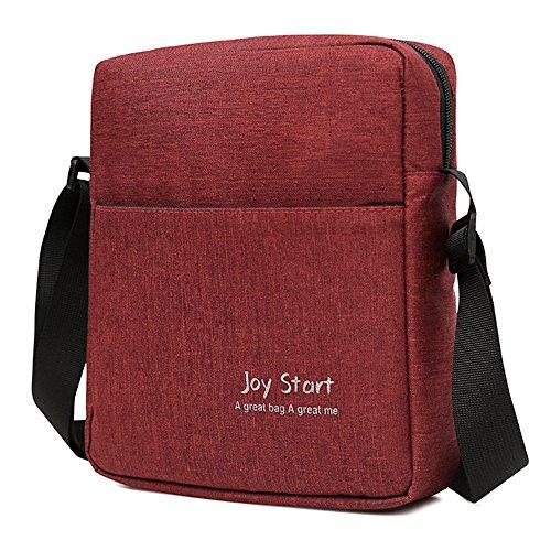 Likecrazy Crossbody Bag Damen Herren Multifunktionale Bag Pack Flache Bauchtasche für Reisen Sport Joggen Geldgürtel