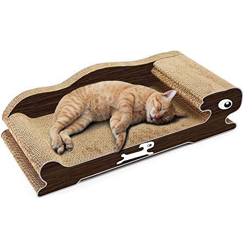 ETH Papel Corrugado Cat Scratch Board Pet Paw Care Juguete Cat Nest...