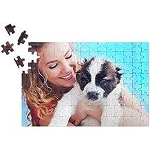 Puzzle, individuales regalo de Navidad con foto personalizada), foto Puzzle Premium Calidad, 120piezas, DIN A4(280x 190mm)