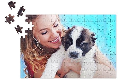 Puzzle, cadeau de Noël personnalisé avec Photo personnalisée, Haute Qualité pour Puzzle, 120pièces, Photo DIN A4(280x