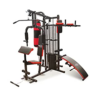 Fitness Gym Training Bench With Bag 2 Dumbbells 65 Kg