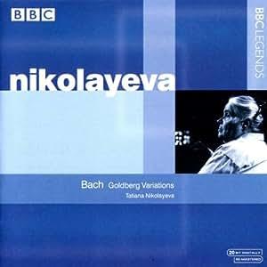 Nikolayeva Spielt Goldberg Variationen