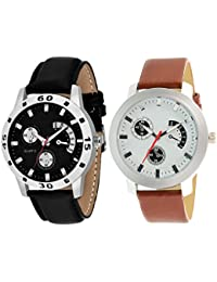 On Time Octus Combo Of 2 Analog Watch For Boys And Mens- OT-207-213