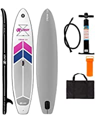 EXPLORER SUP STREAM ( 12.0 ) 366 x 81 x 15 cm Inflatable Isup aufblasbar Stand Up Paddle Board Pumpe Surfboard Aqua