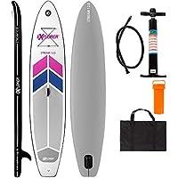 EXPLORER SUP STREAM ( 12.0 ) 366 x 81 x 15 cm Inflatable Isup aufblasbar Stand Up Paddle Board Pumpe Surfboard Aqua