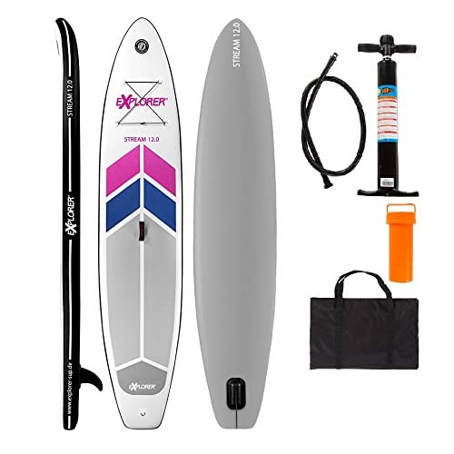 51XlTE0NMOL. SS500  - EXPLORER Sup; Inflatable Stand-Up Paddle Surfboard; iSUP; Inflatable Board 365/15 cm