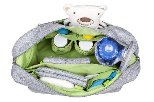 Lässig Green Label Small Messenger Bag Update Wickeltasche/Babytasche inkl. Wickelzubehör  denim blue - 2