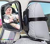 vvivid Verstellbare Kopfstütze montiert Rear View Rücksitz Baby Sicherheit Spiegel