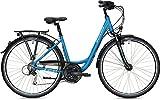 Morrison Trekkingbike T 2.0 Wave 28' 21G Freilauf Blau-Metallic, Rahmenhöhe:S (45 cm)