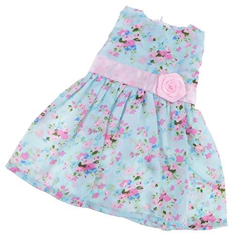 MagiDeal Schöne ärmellose Kleid Outfit Rock Kleidung für 18 Zoll American Girl Puppen - 10 Arten zu wählen - # G