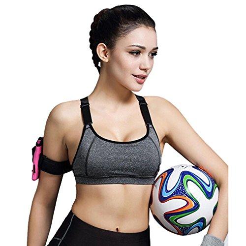 Sport-BH HARRYSTORE Mujer sosténes deportivas de yoga Ropa interior P