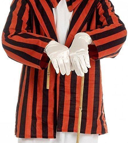 Kinder Jungen Mädchen Shorts Weiße Handschuhe Nikolaus Weihnachtsmann Mario Luigi Viktorianisch Kostüm Kleid Outfit (Luigi Mario Kostüme Und Mädchen Für)