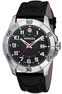Wenger Gents Alpine Leather Strap Watch 70485