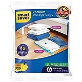 #10: Vacuum Storage SmartSaver Space Bags - 6 JUMBO (40