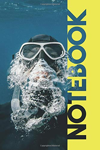 Notebook: Snorkel Mask Stylish Composition Book for Freediving Swimmer por Molly Elodie Rose
