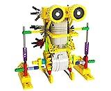 DIY Robot Building Sets - Robotics Educational Learning Blocks for Kids - Battery Operated Motor Science Toys - Construction Bricks Robot Kits for Preschool Children - Best Walking Toy Robot - H2 - amazon.co.uk