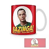 Tasse MUG Bazinga - Sheldon Cooper Tee/kaffee-keramiktasse Big Bang Theory
