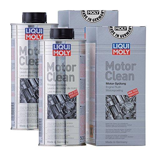 Preisvergleich Produktbild 2x LIQUI MOLY 1019 Motor Clean Motorreinigung Additiv 500ml