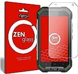 ZenGlass - The Thin Glass I Flexible Glas-Folie für Blackview BV6000 Panzerglas I Display-Schutzglas 9H