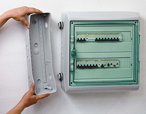 Schneider Electric Kaedra-Gehäuse 13973 138x460mm, 3 Öffn. Installationskleinverteiler 3303430139737