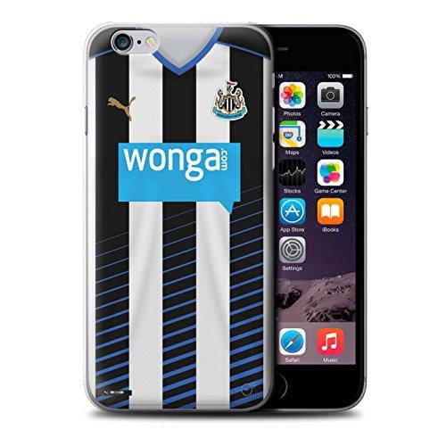 Offiziell Newcastle United FC Hülle / Case für Apple iPhone 6S+/Plus / Rivière Muster / NUFC Trikot Home 15/16 Kollektion Fußballer