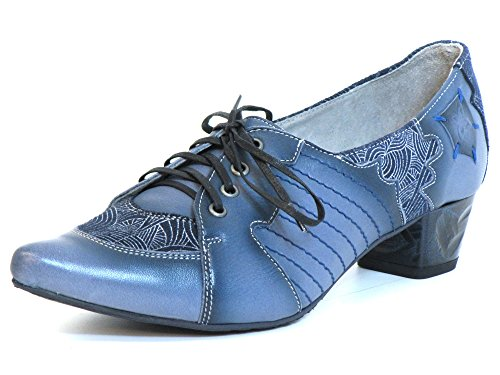 Maciejka Damen Pumps blau-kombi (blau) 03200-17/00-5