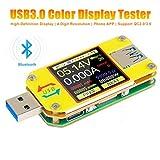Multimetro USB 3.0 UM34C Amperometro voltmetro,Corrente di tensione Digital Meter Tester Resistenza, Display LCD a colori Tester di carico USB