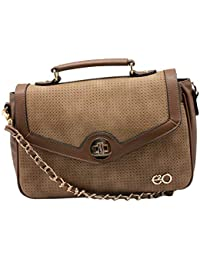 E2O Womens Hook & Loop Closure Sling Bag_Multi-Coloured_Free Size