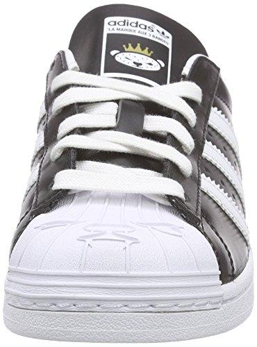 adidas Originals Superstar Nigo Unisex-Erwachsene Skateboardschuhe Schwarz (Core Black/Ftwr White/Ftwr White)