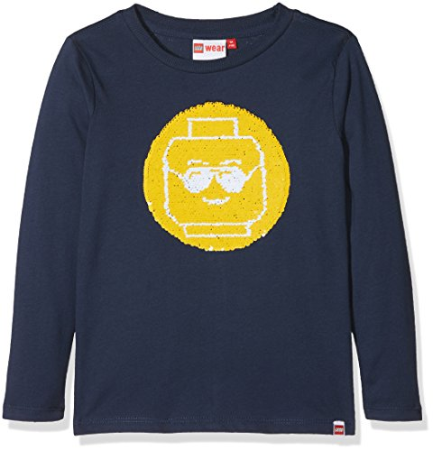 Legowear Boy's Lego Classic Thomas 118-T-Shirt L/S Long Sleeve Top, Blue (Dark Navy), 5 Years (Manufacturer Size:110)
