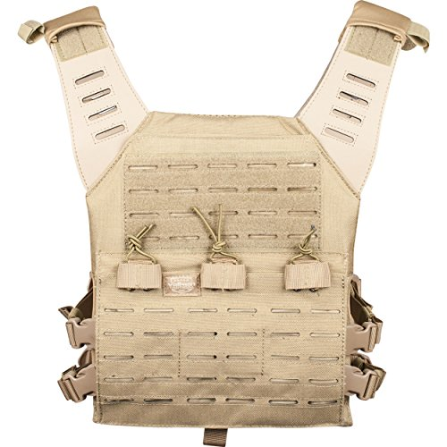 Valken Airsoft Light Weight Molle Plate Carrier LC Adjustable - Weste Olive Paintball