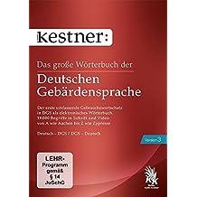 Das große Wörterbuch der Deutschen Gebärdensprache 3 (PC+MAC)