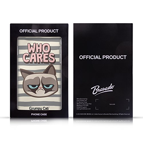 Offizielle Grumpy Cat No Zitate Soft Gel Hülle für Apple iPhone 6 / 6s Lass Mich In Ruhe