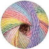 150 Gramm Online Wolle Fano Farbe 09, Linie 359, Schnellstrickwolle mit Farbverlauf