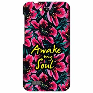Printland Huawei Honor Holly Back Cover Printed Hard Plastic-Multicolor