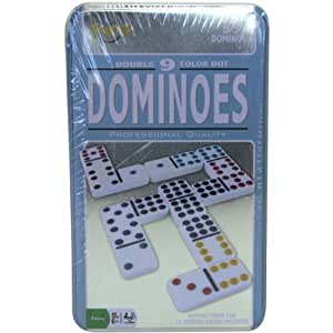Double 9 Dominoes Tin-
