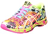 ASICS Gel-Noosa Tri 11, Damen Laufschuhe, Pink (hot Pink/Flash Yellow/Black 3407), 41.5 EU