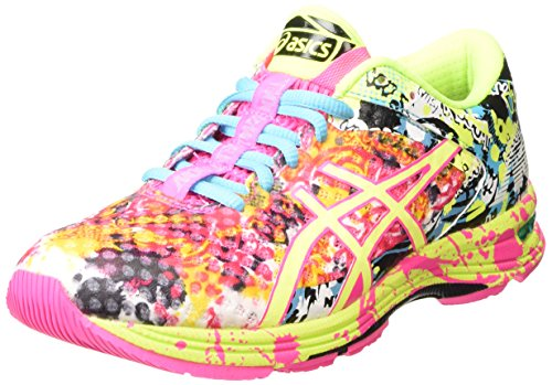 ASICS Gel-noosa Tri 11, Chaussures de Running Compétition femme - Rose (hot Pink/flash Yellow/black 3407), 39 EU