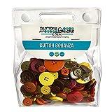 Botones de plástico botón de Galore Bonanza-Harvest