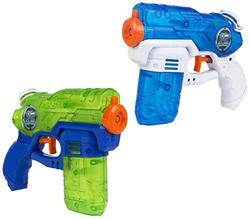 x-shot-pack-2-pistolas-de-agua-mini-20-cm-colorbaby-42723