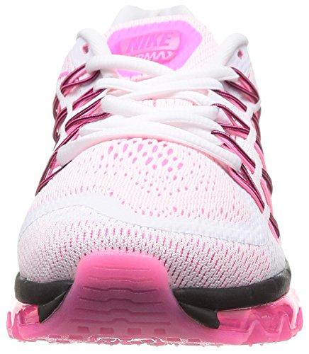 Nike Wmns Air Max 2015, Scarpe sportive, Donna White/Pink Pow-Black
