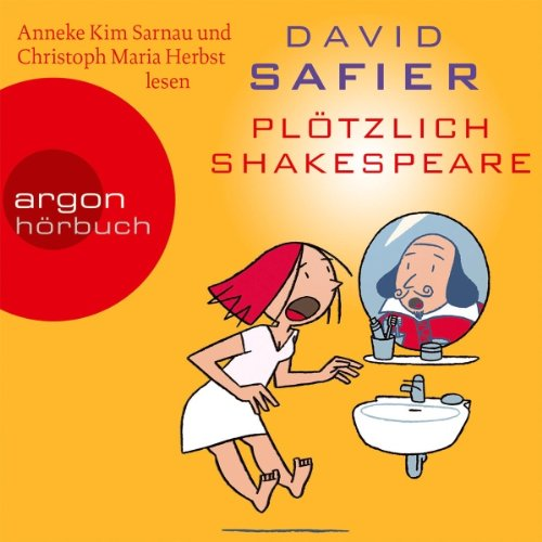 Buchseite und Rezensionen zu 'Plötzlich Shakespeare' von David Safier
