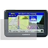 dipos Garmin nüvi 2545 LMT Schutzfolie (2 Stück) - Antireflex Premium Folie matt