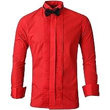 vasta selezione di 91876 d6253 camicia rossa - Spedizione gratuita via Amazon - Amazon.it
