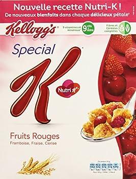 Kellogg's Céréales Spécial K Fruits Rouges 300 g