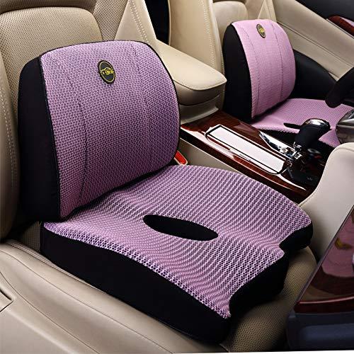 WMTW Gedächtnis-Baumwolltaillen-Kissen-Kissen-Büro-Kolben-Auflage-Kolben-Zunahme-Verdickung Autositz-Rückenlehnen-Auflage B