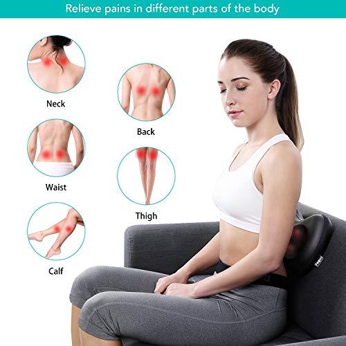 Naipo Shiatsu Massagekissen für Nacken Rücken Taille Massage - 5