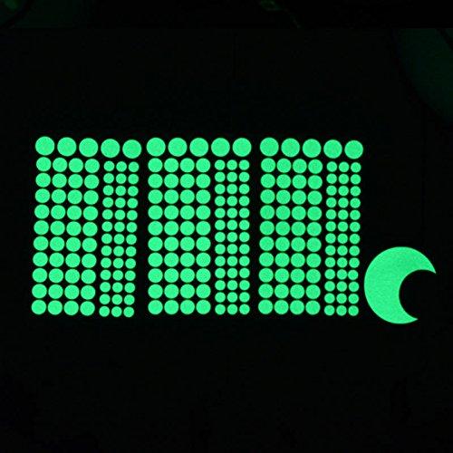 Aha Yo-3D Planet Wall Stickers 7 Pianeti Pasta Fluorescente Camera Dei Bambini Camera Da Letto Soggiorno Mobili Tv Parete Di Sfondo Sticker Shop Vetro Parete Decorativa Adesivo Pvc Diy Rimovibile Di Materiale,Pasta Fluorescente 2,Zero